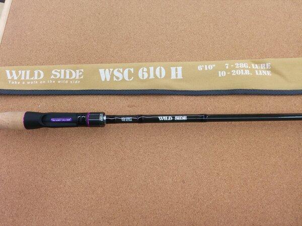 滋賀守山店 中古買取情報 レジットデザイン  ワイルドサイド WSC610H  ワイルドサイド WSC610M  ワイルドサイド WSC610L+、シマノ   ワールドシャウラ 1701FF-2(ブルー)  買取しました。サムネイル