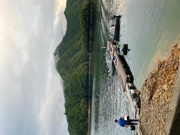葛の葉店スタッフ 池原ダム釣果情報 【2021年8月4日】サムネイル